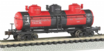 Bachmann 17154 N Scale 3-Dome Tank Transcontinental Oil Co.